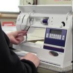Learn how to thread a sewing machine.