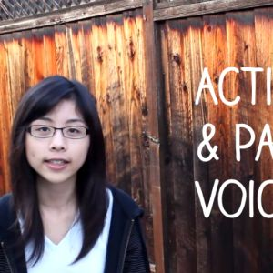 Learn about active and passive voice.