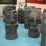 Learn how to create anthropomorphic pottery sculptures.