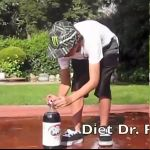 Learn about a chemical reaction experiment using Mentos and soda.