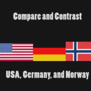 Learn about Compare and Contrast USA, Germany, and Norway.