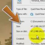 Learn how to find the file size in Windows.