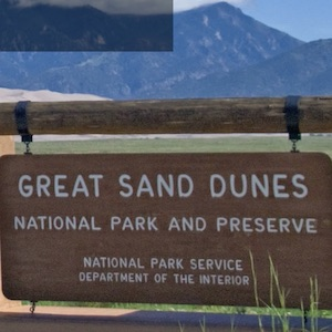 Learn about Great Sand Dunes National Park.