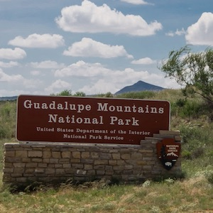 Learn about Guadalupe Mountains National Park.
