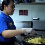 Learn about working in hotel food services.