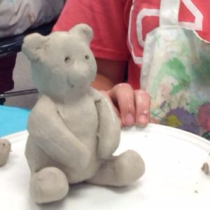 Learn how to build a clay bear in a kiln.
