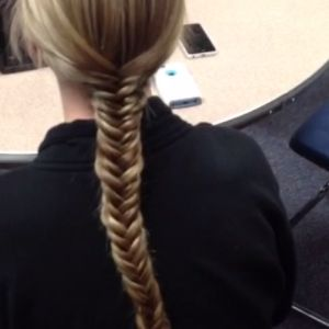 Learn how to fishtail hair.