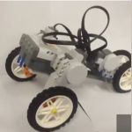 Learn how to make a lego robotics car.