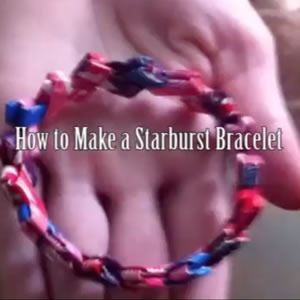 Learn about How to Make a Starburst Bracelet.