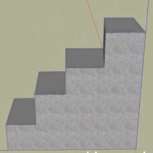 Learn how to make stairs in SketchUp.