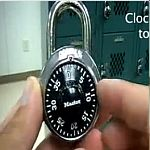 Learn how to open a combination lock.
