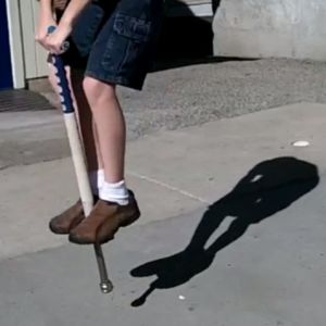 Learn about using a pogo stick.