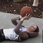 Learn tips on how to shoot a basketball.