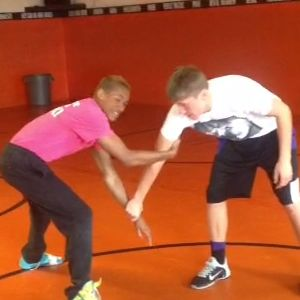 Learn how to shoot a blind man's drag in wrestling.