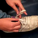 Learn how to tie your shoes.