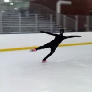 Learn about physics in ice skating.