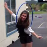 Learn how to hula hoop.