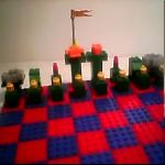 Learn how to make a lego chess set.