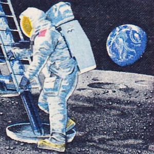 Learn about man-made objects and whether one can see them from the moon.