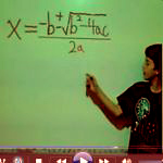 Learn how to memorize the Quadratic Formula.