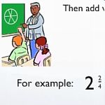 Learn how to convert mixed numbers to improper fractions.