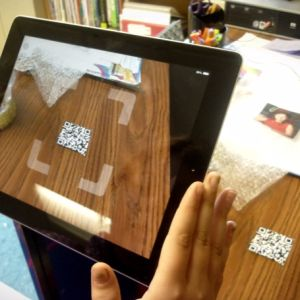 Learn one way to make a QR code.