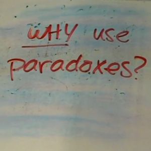 Learn about paradoxes.