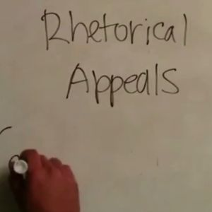 Learn about rhetorical appeals.