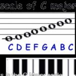 Do you know what a major scale is?  Watch and find out!