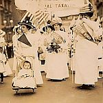 Learn about the Women's Suffrage Movement.